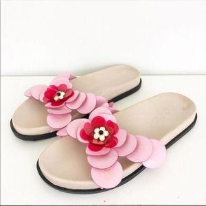 Zara flower slides